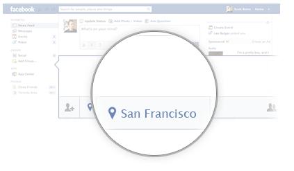 Facebook Places (screenshot 002)