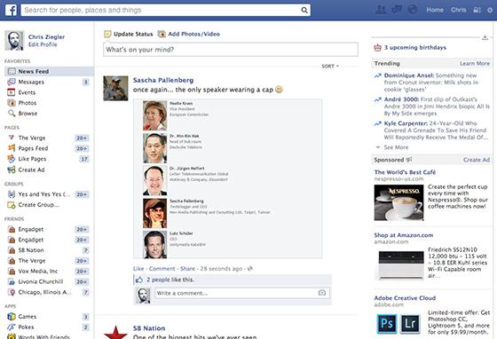 Facebook (old News Feed)