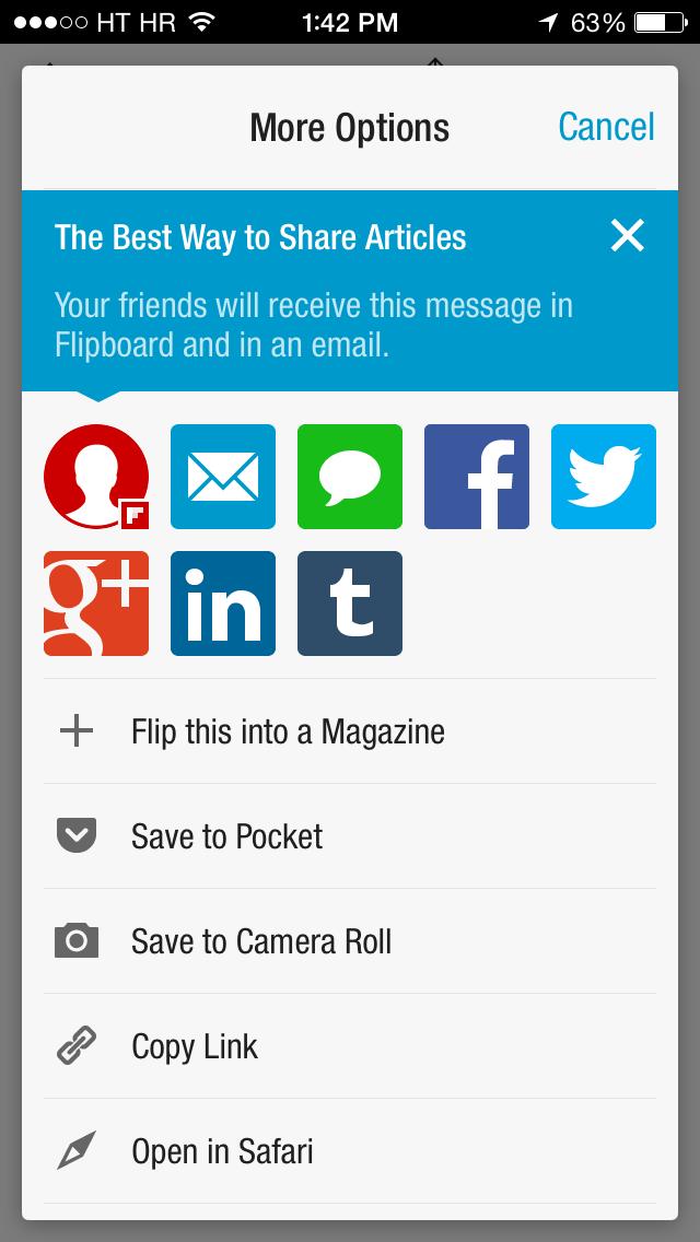 Flipboard 2.2.4 for iOS (iPhone screenshot 001)