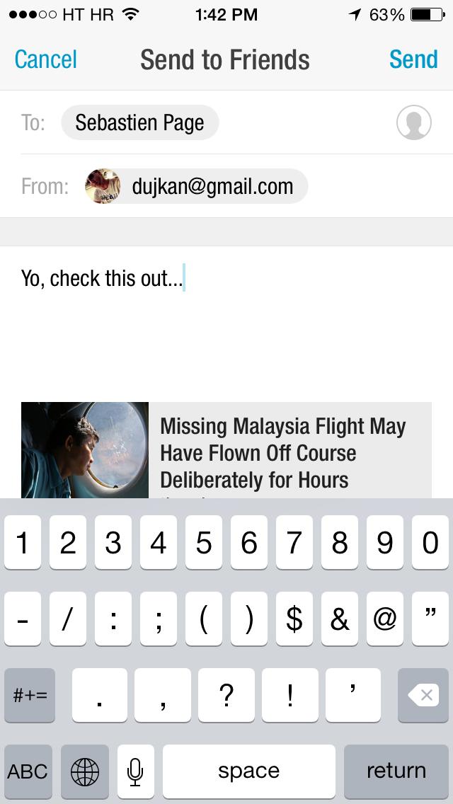 Flipboard 2.2.4 for iOS (iPhone screenshot 002)