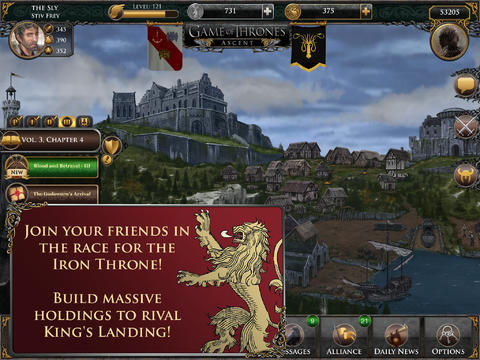 Game of Thrones Ascent for iPad (iPad screenshot 002)