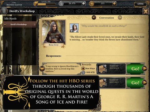 Game of Thrones Ascent for iPad (iPad screenshot 003)