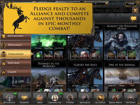 Game of Thrones Ascent for iPad (iPad screenshot 005)