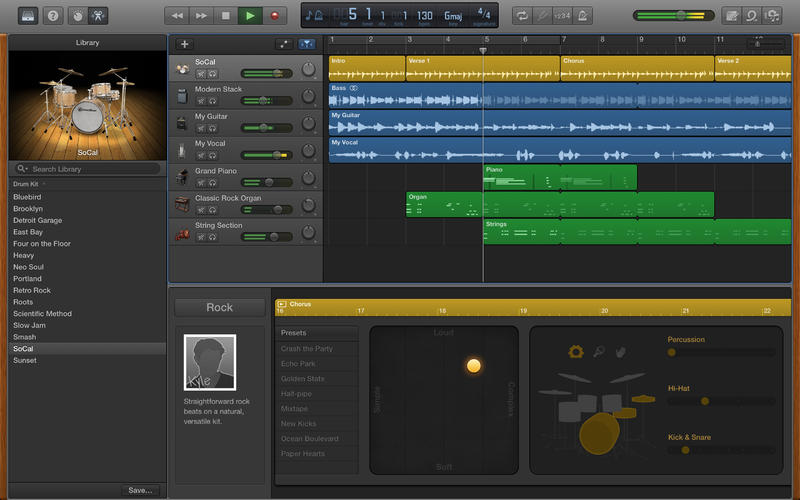 GarageBand for Mac 10.0.2 (screenshot 001)