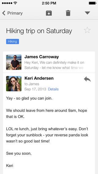 Gmail 3.0 for iOS (iPhone screenshot 002)