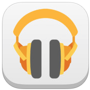 Google Play Music 1.1.2 for iOS (app icon, small)