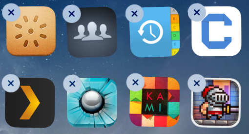 how to move an app icon on ipad