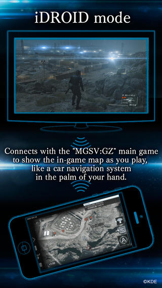 Metal Gear Solid V - Ground Zeroes (iPhone screenshot 002)