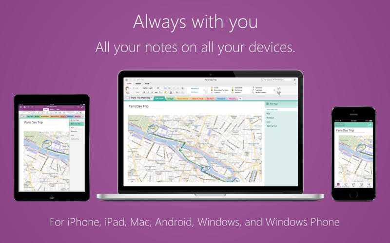 Microsoft OneNote 1.0 for Mac (screenshot 005)
