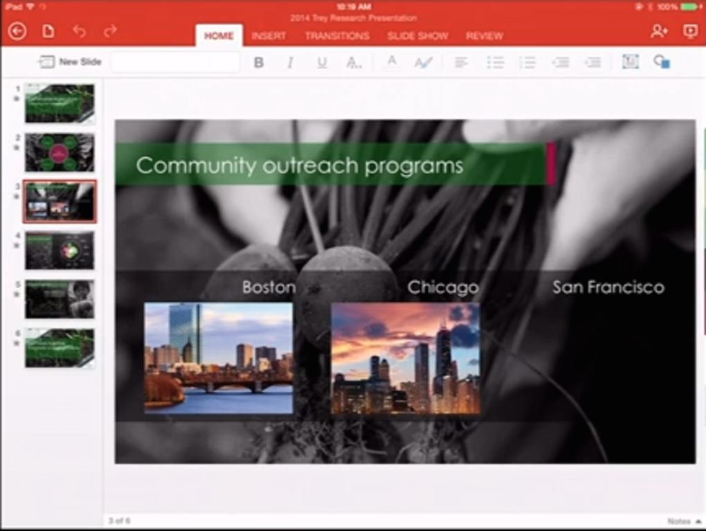 Office for iPad (screenshot 005)