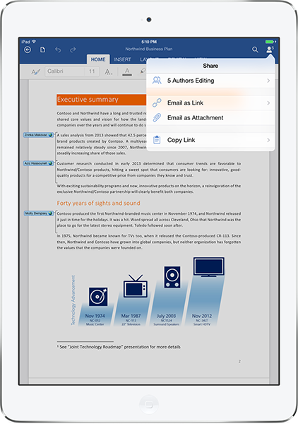 Office for iPad (teaser 006)