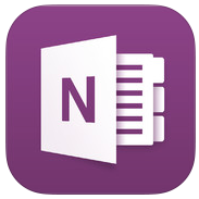 OneNote 2.1.5 for iOS (app icon, small)