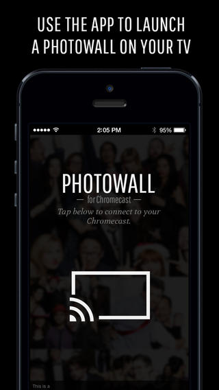 Photowall for Chromecast 1.0 for iOS (iPhone screenshot 003)