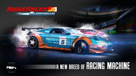 Ridge Racer Slipstream (iPhone screenshot 001)