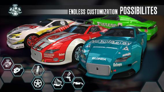 Ridge Racer Slipstream (iPhone screenshot 004)