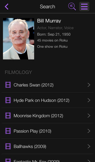 Roku 3.0 for iOS (iPhone screenshot 003)