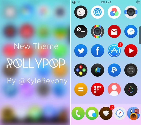 Rollypop Theme