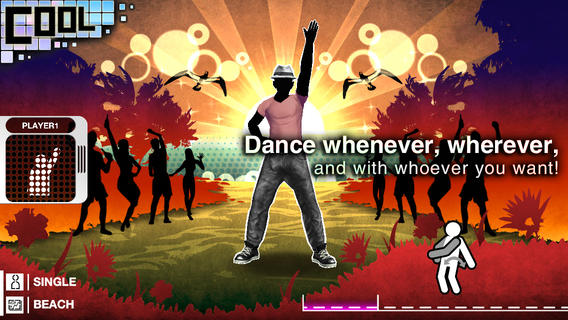 Sega Go Dance (iPHone screenshot 001)
