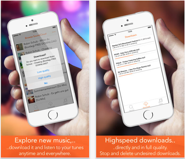 how to download audio from soundcloud on iphone