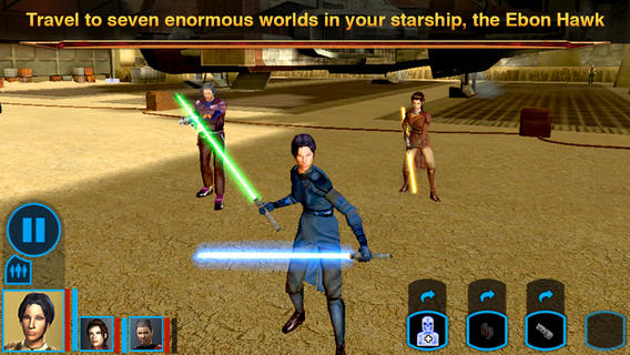 Star Wars KOTOR 1.2 for iOS (iPhone screenshot 001)