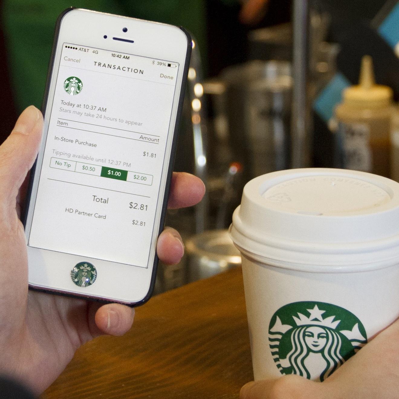 Starbucks (iPhone app, teaser 004)