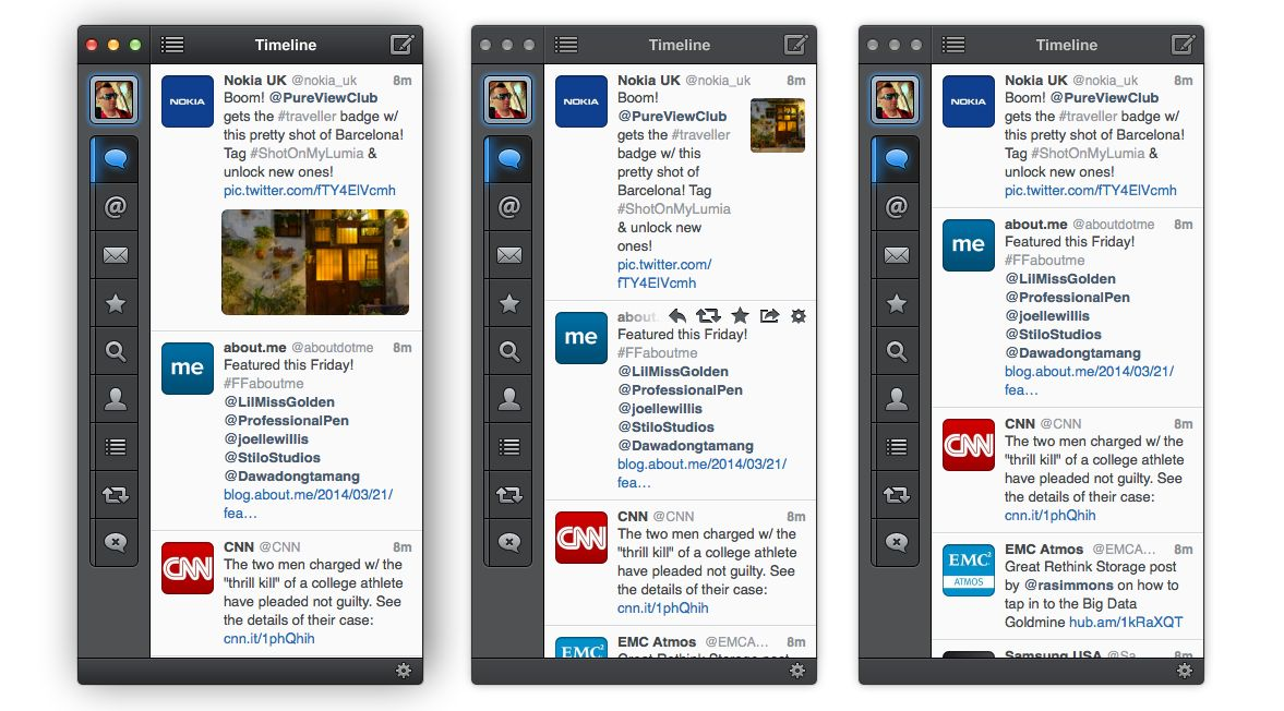 Tweetbot 1.5 for Mac (Thumbnails)