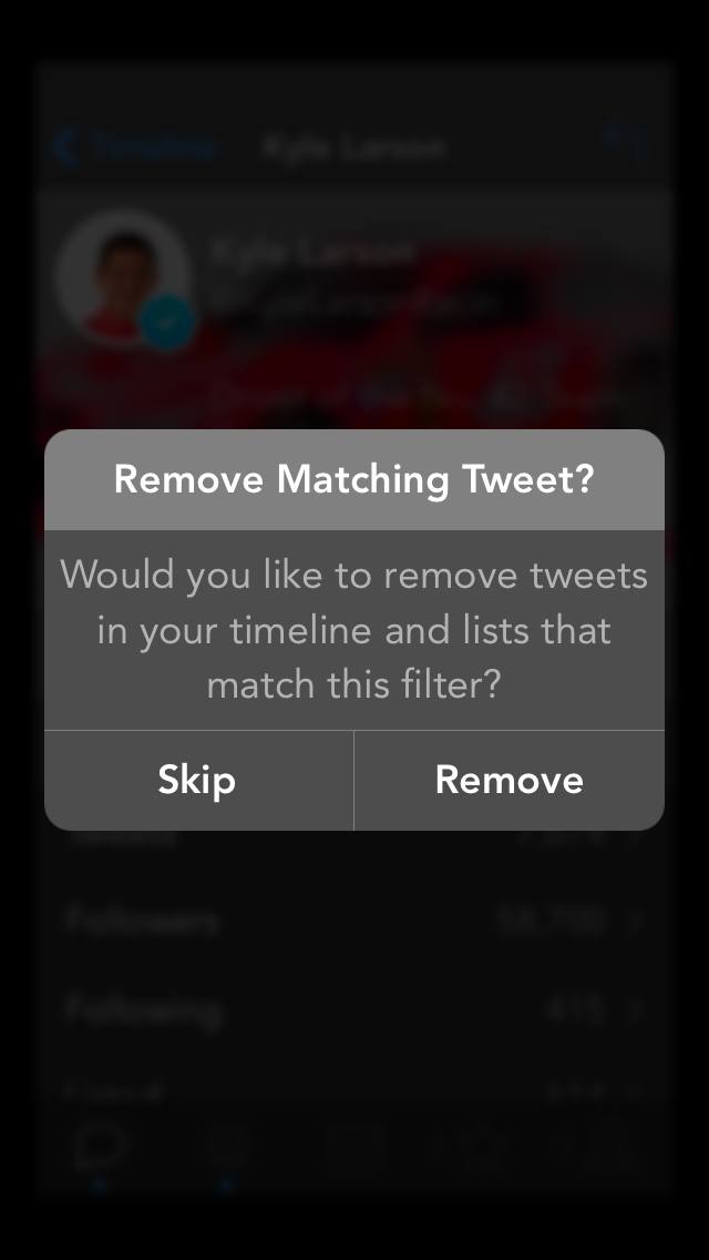 Tweetbot 3.3 for iOS (Timeline, Unfollow 002)