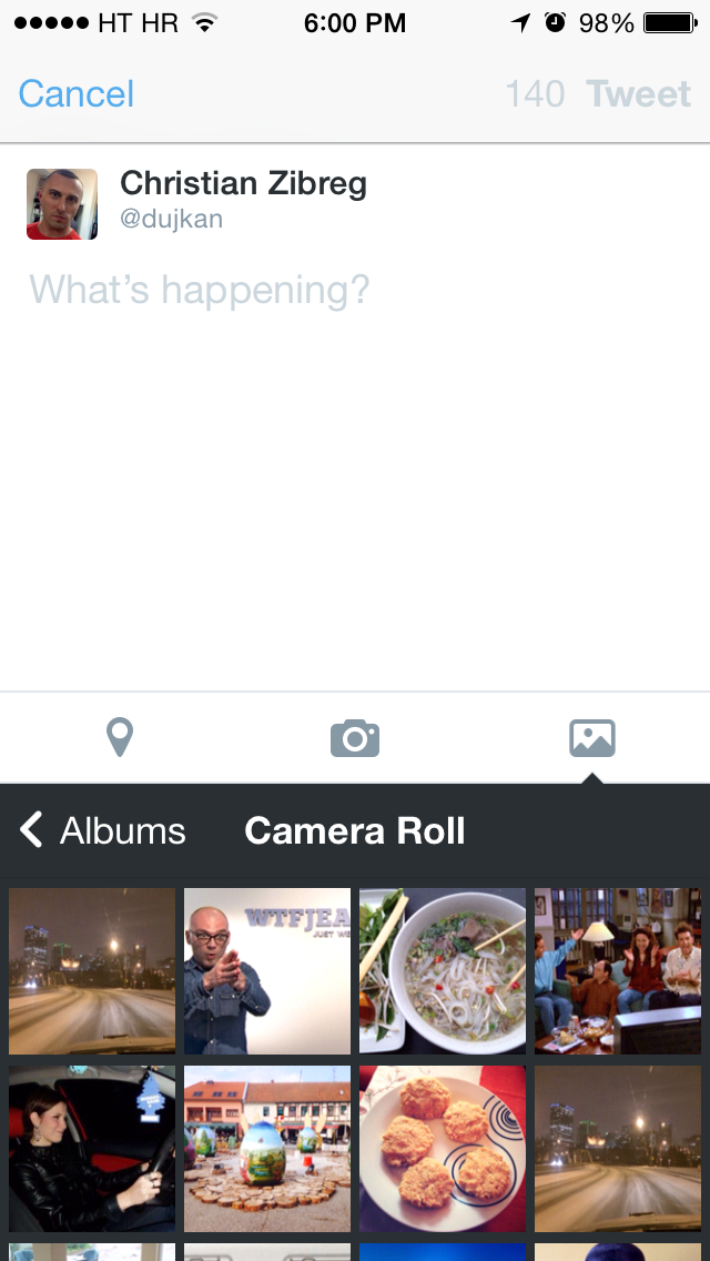 Twitter 6.3 for iOS (iPhone screenshot 002)