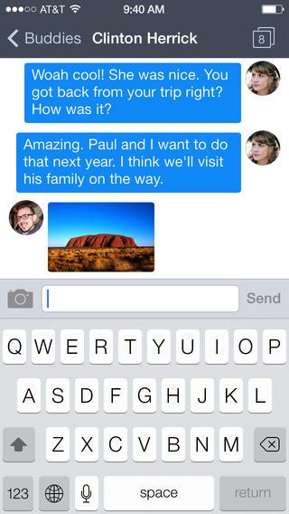 Verbs IM 3.0 for iOS (iPhone screenshot 003)