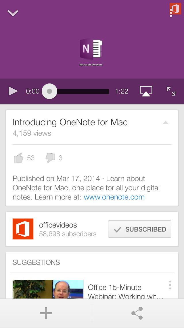 YouTube 2.5 for iOS (iPhone screenshot 002)