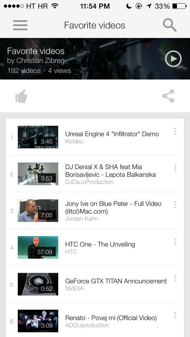 YouTube 2.5 for iOS (iPhone screenshot 007)