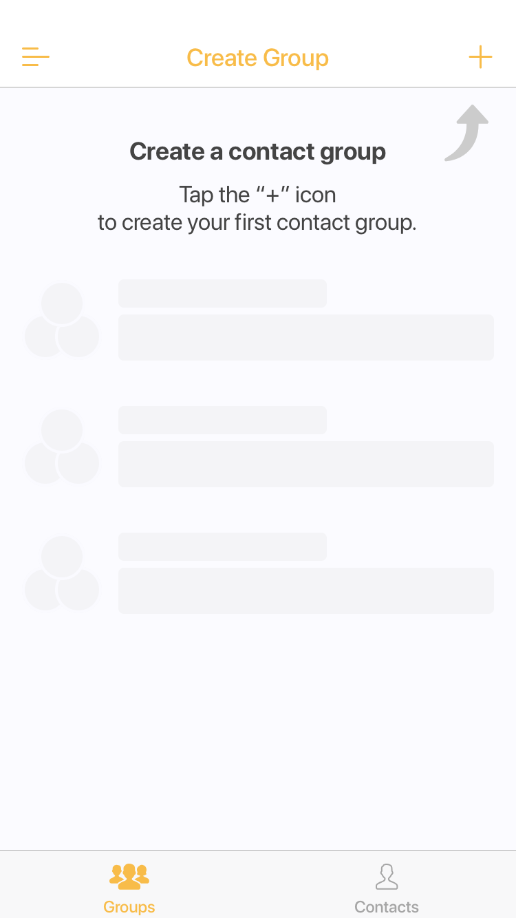 create contact group