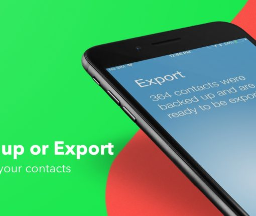 How to backup or export iPhone contacts