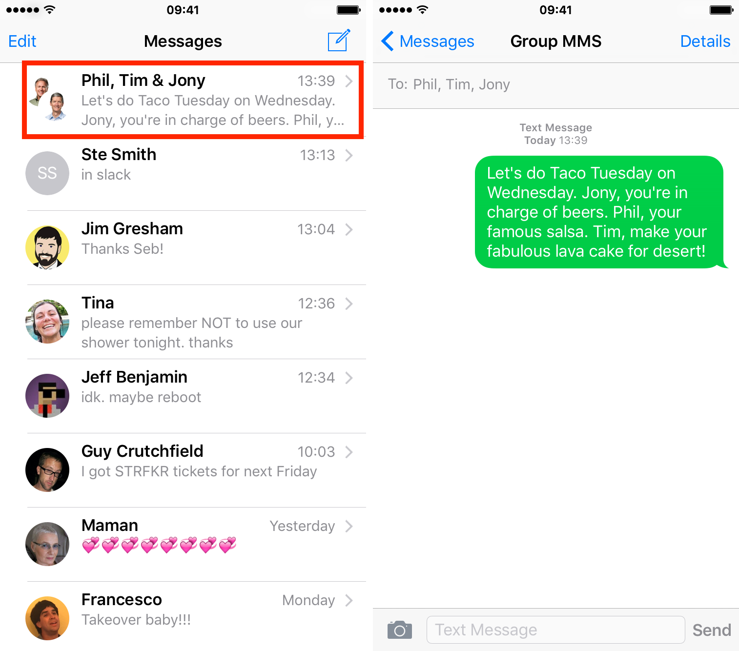 how to send a group message on iphone how to send text messages on iphone 20989
