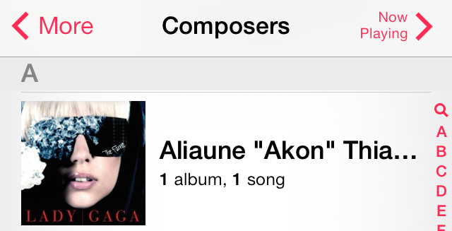 iOS 7 Music Composers