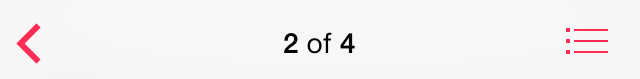 Vista de detalles de música de iOS 7