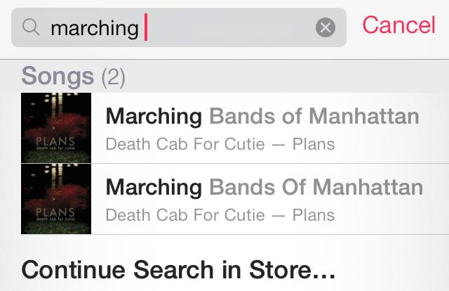 iOS 7 Music iTunes DUmb