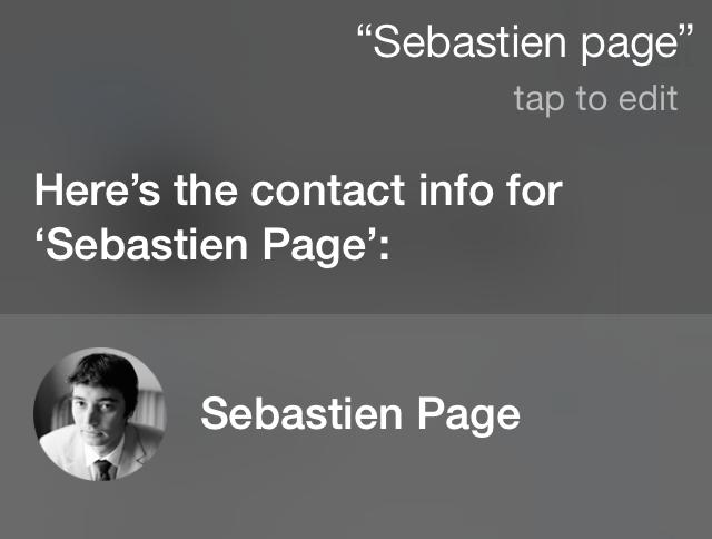 iOS 7 Siri Sebastien
