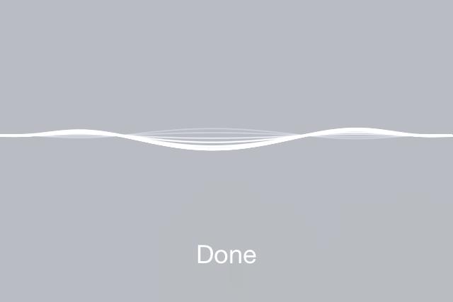 iOS 7 Siri Wave