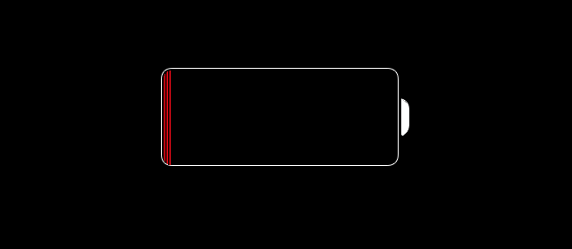 iOS 7 (battery empty 001)