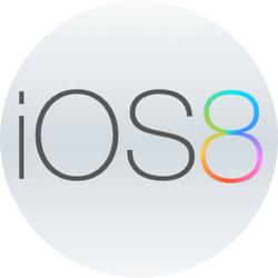 iOS 8 logo (mockup 001)