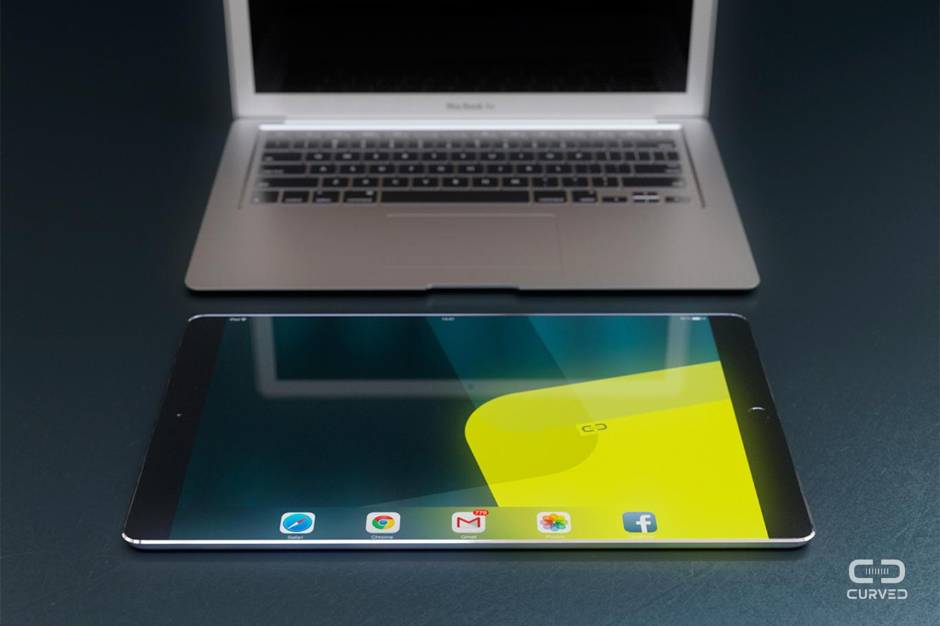 iPad Pro mockup (Curved.de 001)
