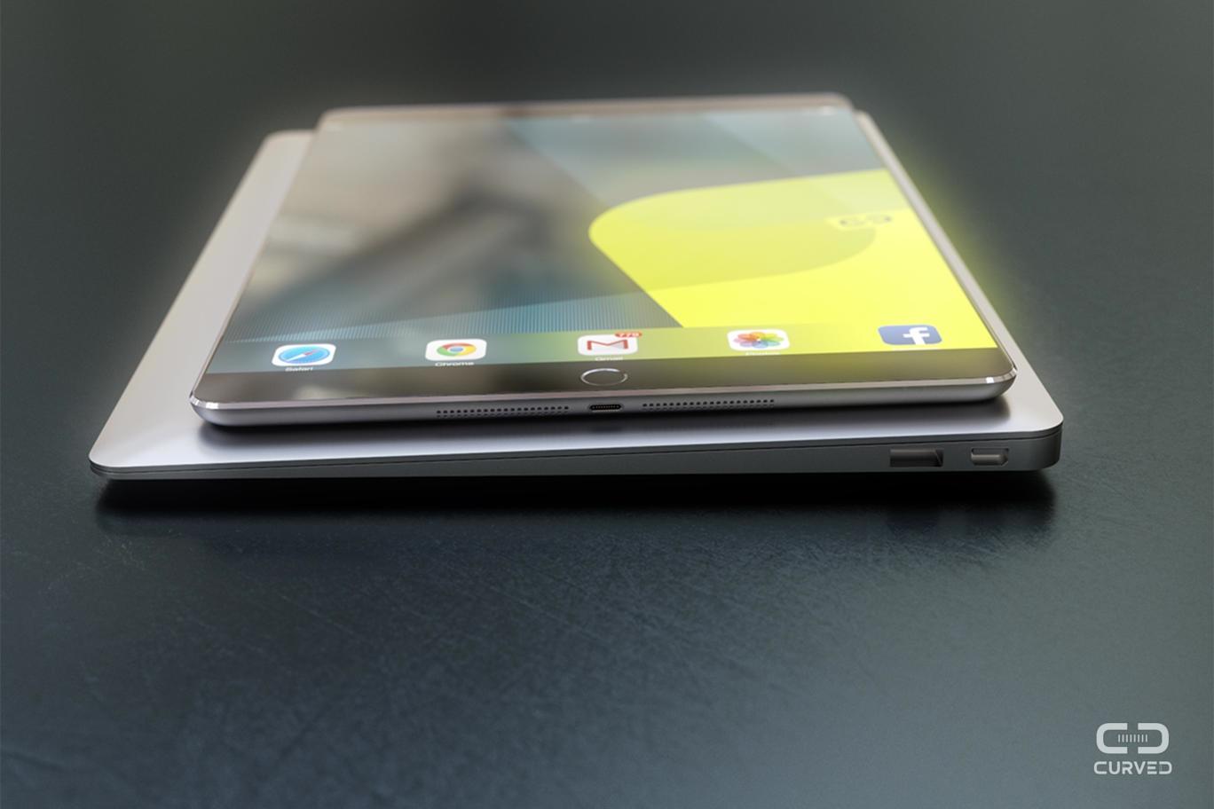 iPad Pro mockup (Curved.de 006)