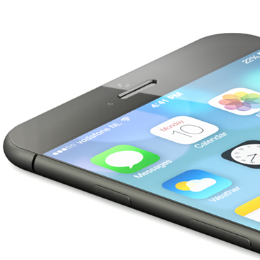 iPhone 6 concept (NowhereElse and Martin Hajek, teaser 001)