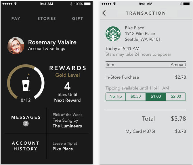 Design Home On The App Store: Starbucks 3.0 Is Out With New IOS 7 Design, Shake-to-pay