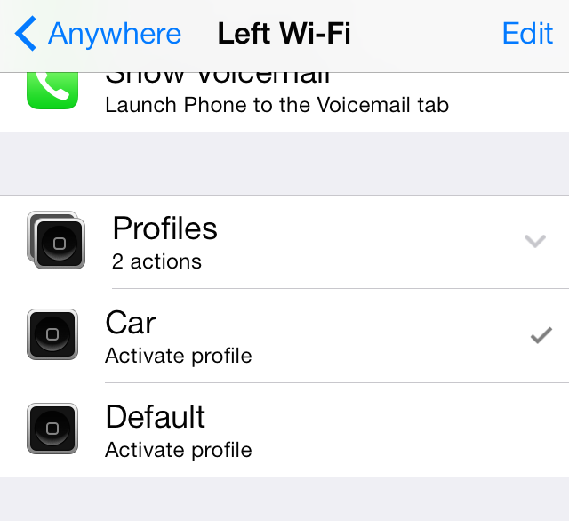Activator Left Wifi Profiles