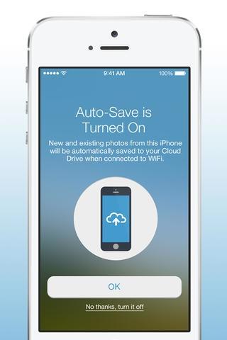 Amazon Cloud Drive Photos 3.0 for iOS (iPhone screenshot 001)