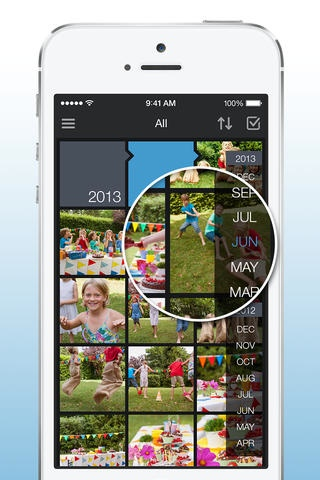 Amazon Cloud Drive Photos 3.0 for iOS (iPhone screenshot 002)