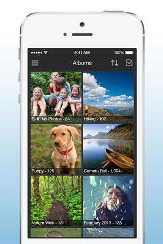 Amazon Cloud Drive Photos 3.0 for iOS (iPhone screenshot 003)