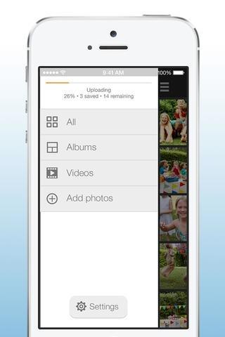 Amazon Cloud Drive Photos 3.0 for iOS (iPhone screenshot 004)